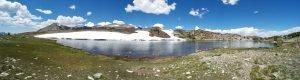Lake at base of Gaylor Peak
