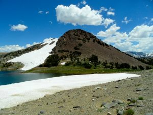 Gaylor Peak west face