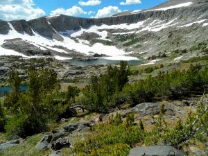 Another view, Granite Lakes Basin